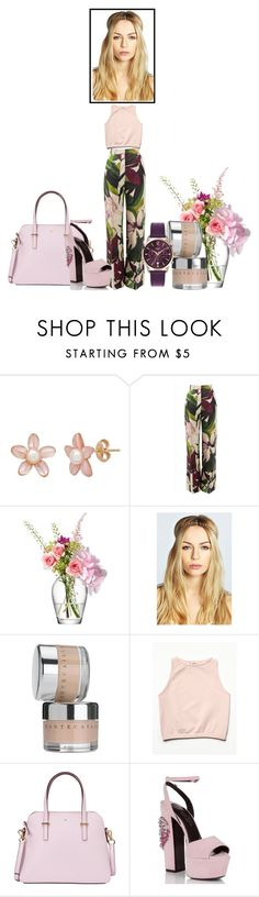"""""""Untitled #289"""" by tasa92 ❤ liked on Polyvore featuring Erika Cavallini Semi-Couture, LSA International, Boohoo, Chantecaille, Free People, Kate Spade and Topshop"""