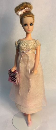 Vintage Topper Dawn Doll Denise/11C In Very Sweet Clone Fashion