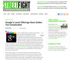 Street Fight covers the business of hyperlocal marketing, commerce and technology. Job Page, Street Fights, Local Seo, Sales And Marketing, New Trends, How To Apply, Content, Technology, Tecnologia