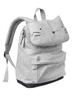 Gap Kitty Cat Backpack - $35.