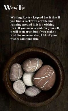 Wishing Rocks (Magickal Tips) | Witches Of The Craft®