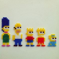 The Simpsons hama beads by hadavedre