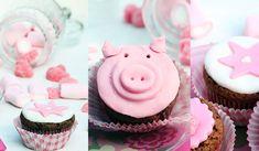 Receta de cupcakes decorados con fondant  ¡Muy facil!    http://charhadas.com/ideas/26550-receta-de-cupcakes-decorados-con-fondant