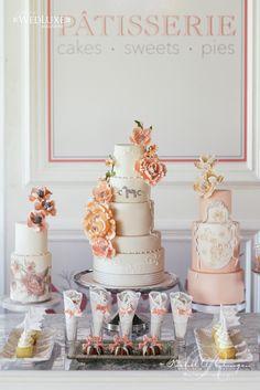Dessert Tablescape | Wedding Decor Toronto Rachel A. Clingen Wedding & Event Design