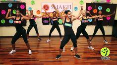 Boom Boom by Blacked Eye Peas Zumba workout