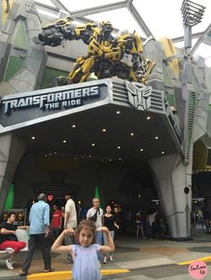 Tranformers The ride, the best atraction in Universal Studios Singapore