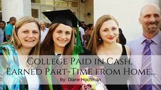How this Mom paid CASH for her daughter to go to college while working Part-Time from home!
