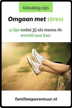 Heb jij last van stress? Ik geef je 9 tips zodat jij als mama de wereld weer aan kunt. #stress #stressmanagement Tips, Fun Things, Dutch, Group, Awesome, Board, Fibromyalgia, Blogging, Psychology