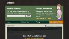 Create websites for your class or students.