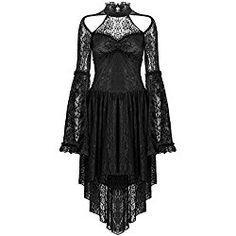 Gothic Jewelry Victorian Gothic lace sexy dress with cat ear shape on top - Gothic lace sexy dress with cat ear shape on top Gothic Lolita Dress, Goth Dress, Alternative Mode, Alternative Fashion, Prom Dress Shopping, Online Dress Shopping, Sexy Lace Dress, Sexy Dresses, Moda Outfits