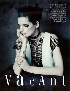 Vogue UK Editorial May 2013 - Guinevere Van Seenus, Stella Tennant by Paolo Roversi