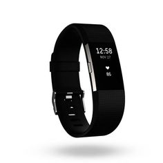 Product Image for Fitbit® Charge 2™ Wireless Activity Wristband in Black 1 out of 5