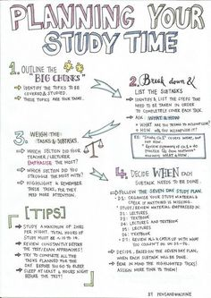 Note Taking Template Middle & HighSchool by