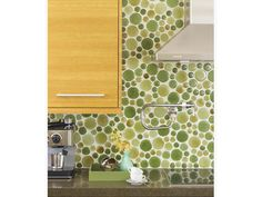 Circle Tile Backsplash