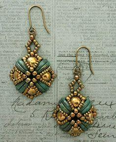 Tara Earrings - Turquoise | Linda's Crafty Inspirations | Bloglovin'