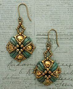 Tara Earrings - Turquoise | Linda's Crafty Inspirations | Bloglovin'