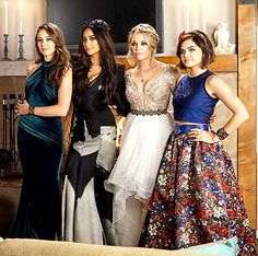 Pretty Little Liars Prom: Go Behind the Scenes of the Glam Episode! - Us Weekly