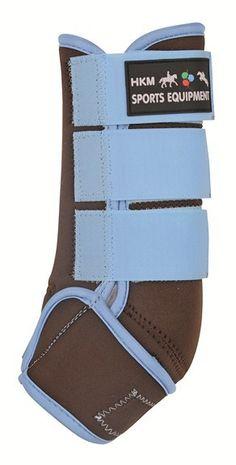 HKM Softoprene//Neoprene Breathable Horse Leg Protection Brushing Boots