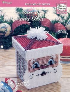 Plastic Canvas Free Santa Pattern | THIS ITEM IS CRAFT PATTERN(S) ~ WRITTEN INSTRUCTIONS TO MAKE IT ...