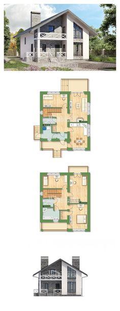 Ev villa projesi 155-001-L | House Expert