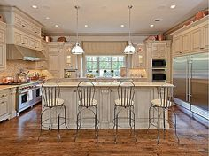 A culinary perfectionist's paradise! #kitchen #interiordesign
