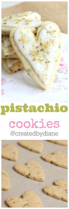 pistachio cookies from @createdbydiane