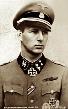 Waldemar Fegelein (9 January 1912 – 20 November 2000) was a SS-Standartenführer (colonel) in the Waffen-SS during World War II.