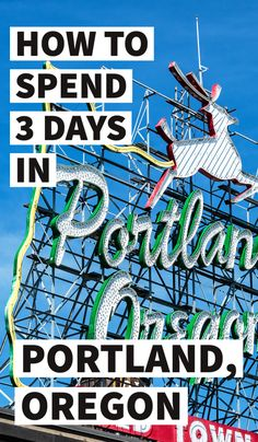 3 days in Portland Oregon, what to do in Portland Oregon, Portland itinerary, top things to do in Portland Oregon, Oregon travel tips, Portland travel tips, Oregon itinerary, 3 days in Oregon, where to eat in Oregon, best things to do in Portland, Portland in 3 days, Oregon in 3 days, long weekend in Portland #Portland #Oregon #Travel Usa Travel Guide, Travel Usa, Globe Travel, Canada Travel, Travel Guides, Weekend In Portland, Portland Oregon, Arizona, Bag Essentials