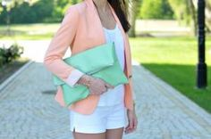 mmm mint and pink! my fav