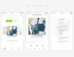 """Check out new work on my @Behance portfolio: """"Music Player UI""""…"""