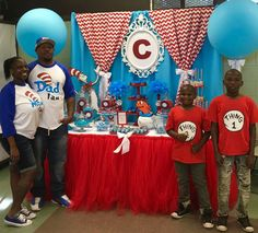 """""""Cat in the Hat"""" Baby Shower  