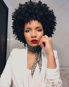 ATOZ Remy Human Hair WIG AFRO Full Cap WIG Brazilian Short None Lace Wigs. Made of Human Virgin hair, silky, softness and smoothness. Natural Hair Journey, Natural Hair Care, Natural Hair Styles, Curly Afro Hair, Curly Hair Styles, Cabelo 3c 4a, Twisted Hair, Ethno Style, Pelo Afro