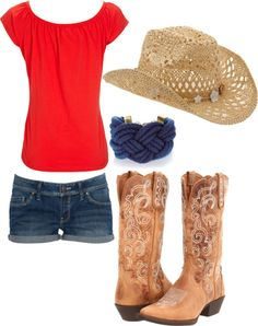Cowgirl, created by theresa99 on Polyvore