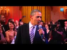 Obama Sings Sweet Home Chicago With Mick Jagger, Jeff Beck, BB King