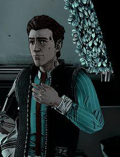 Rhys <><> He's a fucking nerd I love it