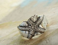 Nautical Gift Nautical Silver Ring Ocean Waves by HappyGoLicky
