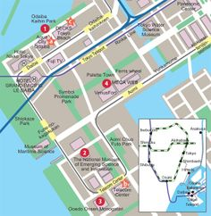 """Odaiba is this crazy man-made island (out of condensed trash). There is a super cool amusement park, one of the worlds largest ferris wheels, a """"future Toyota"""" car centre.. and an Edo style Onsen.  Its a full day of wacky fun!"""