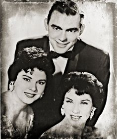 "vocal group, The Browns - The Browns consisted of, Jim Ed Brown, Maxine Brown, & Bonnie Brown - Remembered today for their 1959 RCA-Victor recording of, ""The Three Bells"""