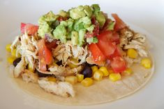 Southwest Chicken Tacos - 21 Day Fix Approved Recipe