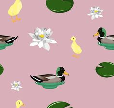 New ELE ducky print, #style #design #illustration #graphicdesign #pattern #repeatpattern #ducks