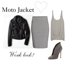How to Wear and What to Wear with a Moto Jacket http://www.momgenerations.com/2014/10/7-ways-to-wear-a-moto-jacket-fashionfriday/
