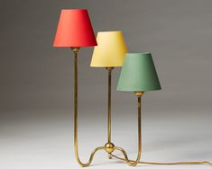 Table lamp designed by Josef Frank for Svenskt Tenn, — Modernity