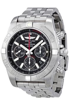 Breitling Chronomat B01 Flying Fish Negro Dial Automatic AB011010-BB08SS