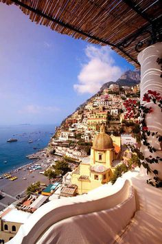 Positano, Italy it just looks so interesting!