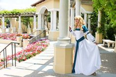 Swan Princess Odette cosplay costume plus accesories