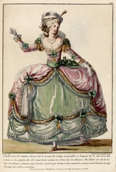 1776 French Fashion Plate - Style: Cirassienne