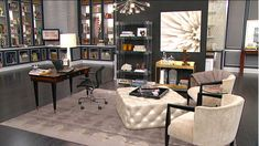 The home office has evolved. It's now a living space that's less structured and one-dimensional than in the past. As a multifunctional space, it needs to be chic enough to receive a client, while comfortable for everyday living. Since it's...