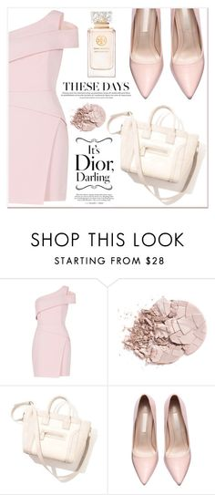 """Rose Style"" by lucky-1990 ❤ liked on Polyvore featuring BCBGMAXAZRIA and Tory Burch"