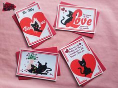 Hey, I found this really awesome Etsy listing at https://www.etsy.com/listing/586068275/funny-black-cat-valentines-day-cards-set