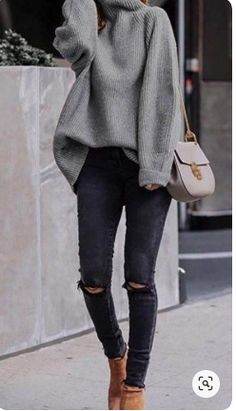 winter outfits for work . winter outfits for school . winter outfits for going out Trend Fashion, Winter Fashion Outfits, Look Fashion, Autumn Fashion, Fashion Ideas, Winter Fashion Women, Fashion For Women, Fashion 2020, Casual Fashion Style
